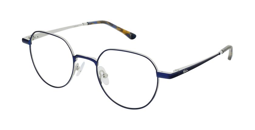 Óculos graduados MAGIC 95 BL azul/prateado - vue de 3/4