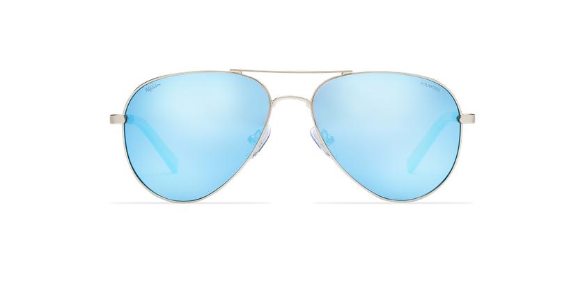 Gafas de sol AZCA POLARIZED dorado/azul - Vista de frente