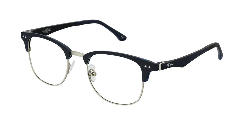 Óculos graduados MAGIC 92 BL ECO FRIENDLY azul/prateado - vue de 3/4