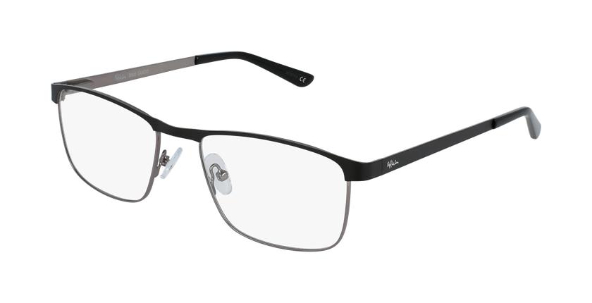 Óculos graduados homem Guido bk (Tchin-Tchin +1€) preto/cinzento - vue de 3/4