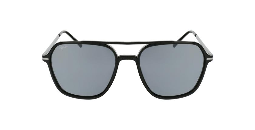 Óculos de sol homem IBANEZ BK preto/cinzento - Vista de frente