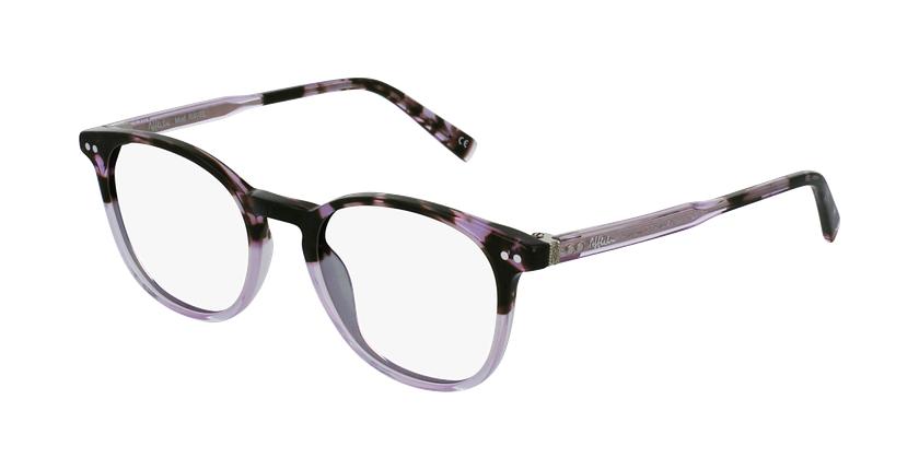 Óculos graduados RAVEL PU violeta - vue de 3/4