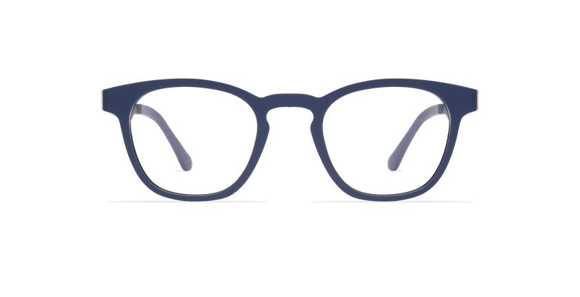 Lunettes de vue MAGIC 15 bleu/bleu foncé mat - Vue de face