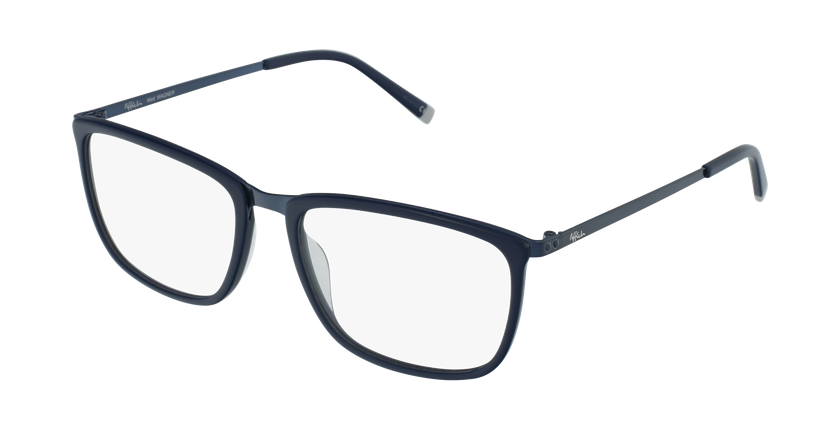 Óculos graduados homem WAGNER BL azul - vue de 3/4