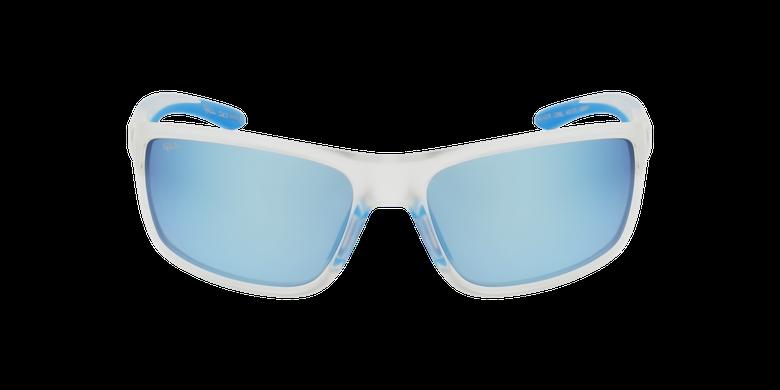 Lunettes de soleil homme IGOR blanc/bleu