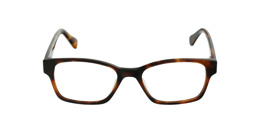 Óculos graduados senhora LYS TO (TCHIN-TCHIN +1€) tartaruga - Vista de frente