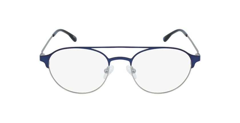 Lunettes de vue homme MAGIC 52 BLUEBLOCK bleu/argenté - Vue de face