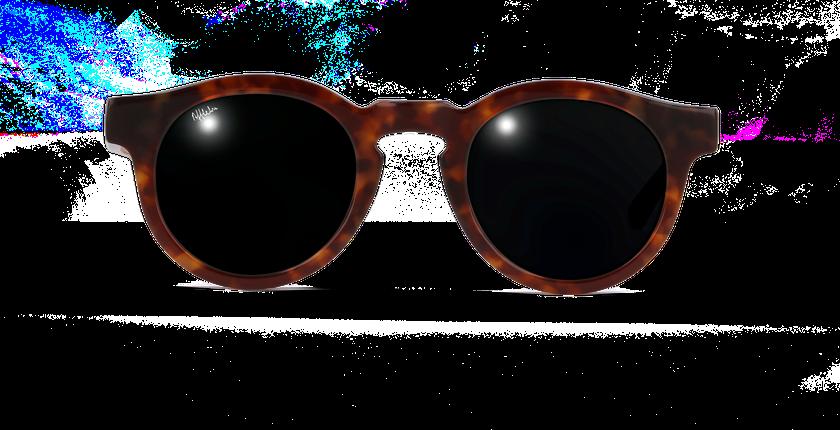 Lunettes de soleil femme LUCIA écaille - vue de face