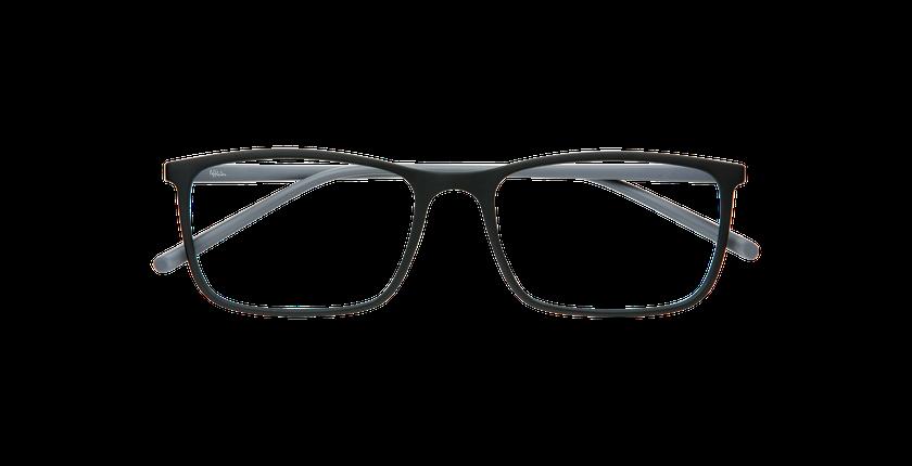 Gafas graduadas hombre LIGHT TONIC negro - vista de frente