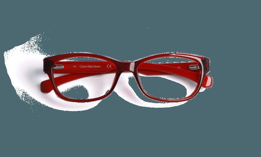 Lunettes de vue femme CALVIN KLEIN JEANS rouge