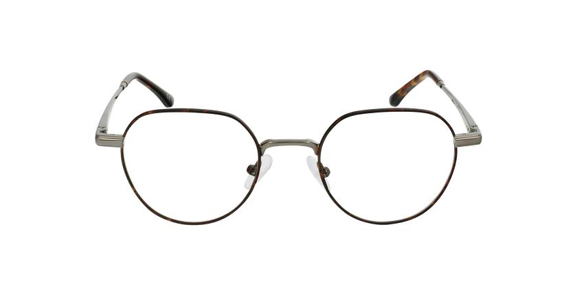 Óculos graduados MAGIC 95 TO tartaruga/prateado - Vista de frente