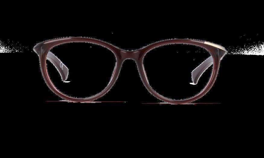 Lunettes de vue femme CALVIN KLEIN JEANS marron