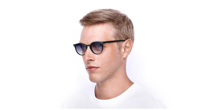 Óculos de sol homem CLINT GR verde - vue de 3/4
