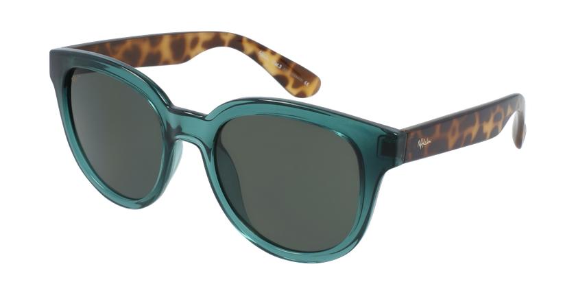Óculos de sol senhora LUZ GR verde/tartaruga - vue de 3/4