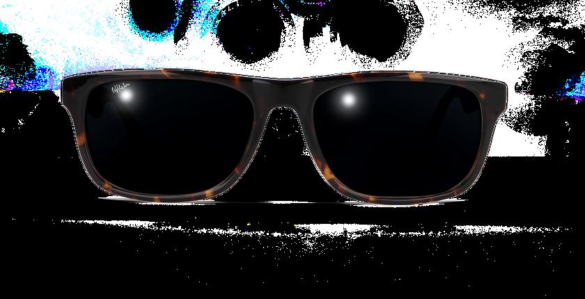 Lunettes de soleil WILL écaille - vue de face