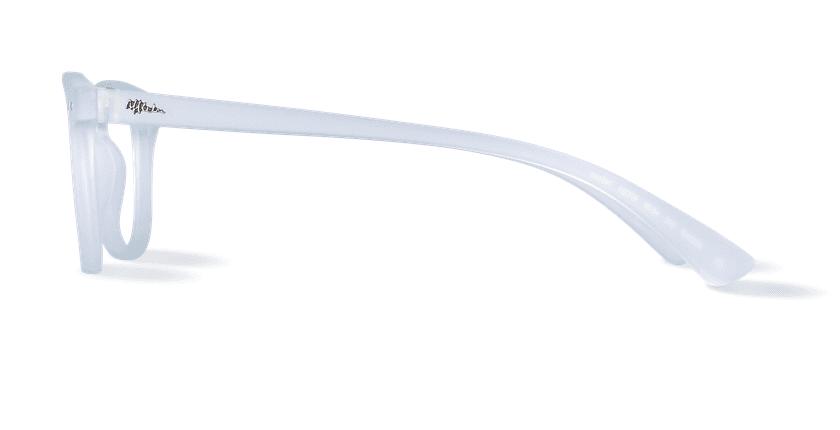 Óculos graduados MOD01P cristal - Vista lateral