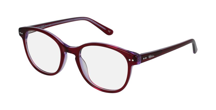 Óculos graduados criança TESS PK  (Tchin-Tchin +1€) rosa/violeta - vue de 3/4