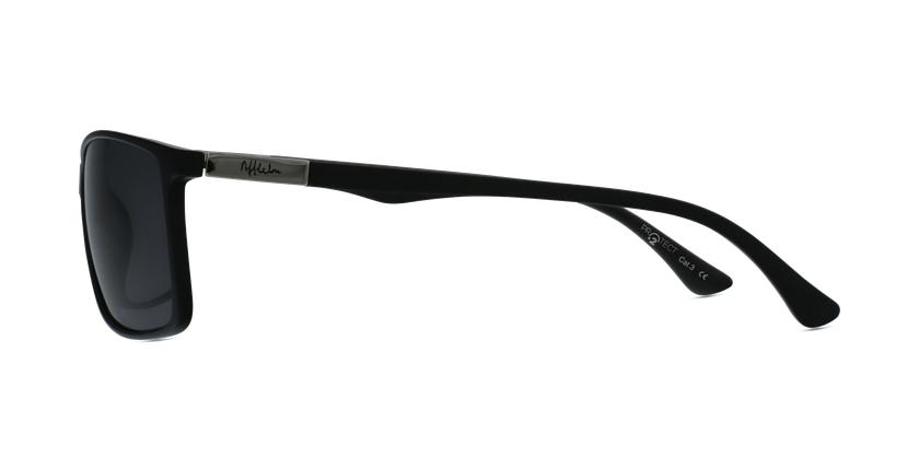 Óculos de sol homem SHAUN BK preto - Vista lateral