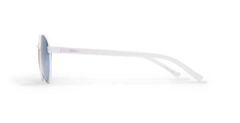 Óculos de sol senhora TUTTI branco - Vista lateral