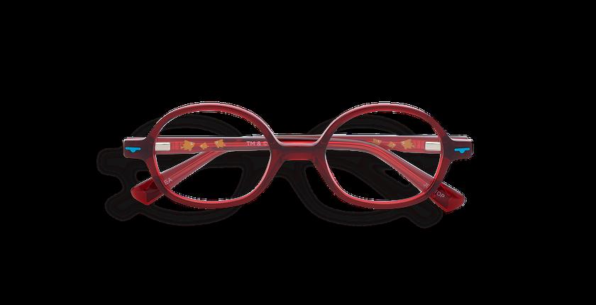 Gafas graduadas niños SEA rojo - vista de frente