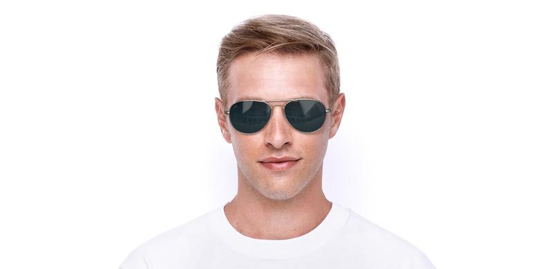 Gafas de sol hombre CADIZ dorado