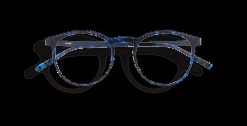 Óculos graduados homem ALPHA13 BL azul - Vista de frente