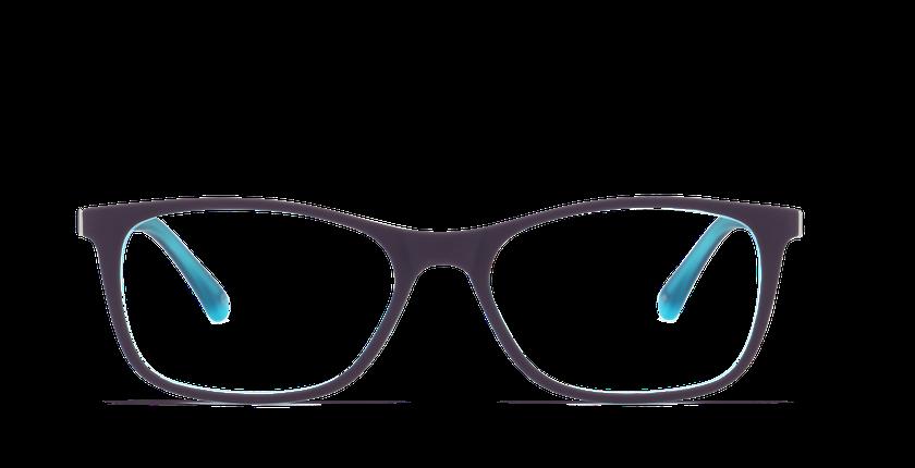 Lunettes de vue femme T025 violet - vue de face