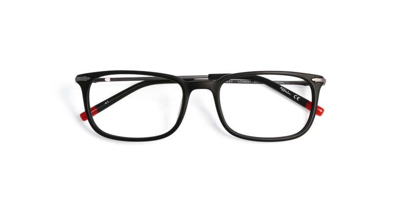 Lunettes de vue homme DUDLEY noir - Vue de face