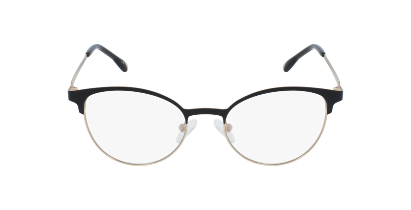 Óculos graduados senhora MAGIC 54 BLUEBLOCK - BLOQUEIO LUZ AZUL preto/dourado - Vista de frente