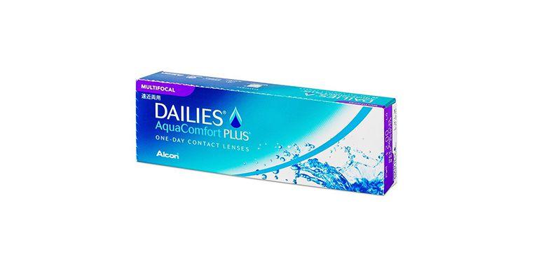 Lentilles de contact Dailies AquaComfort Plus Multifocal