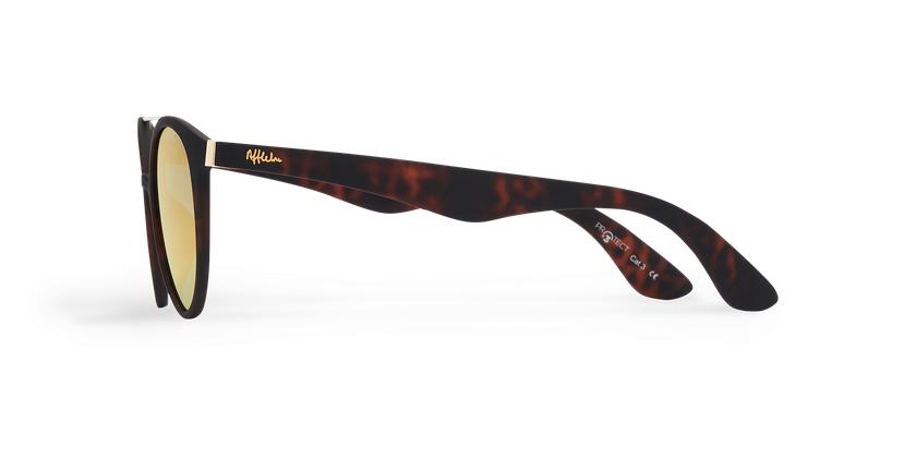 Óculos de sol senhora ANDRES POLARIZED tartaruga  - Vista lateral
