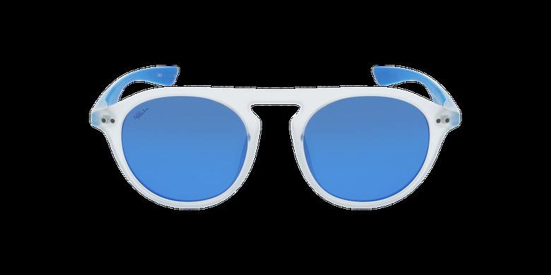 Lunettes de soleil BORNEO blanc/bleu