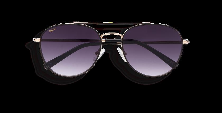 ... Gafas de sol hombre LONDON negro - vista de frente ... e9d4861bc909