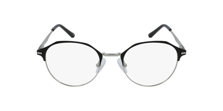 Óculos graduados senhora OAF20524 BLSL (TCHIN-TCHIN +1€) preto/prateado