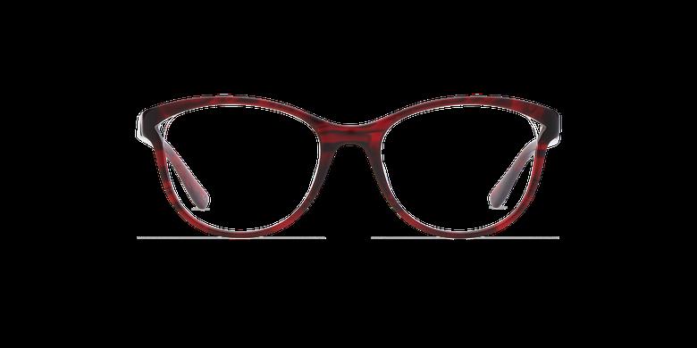 Óculos graduados senhora MADELINE (Tchin-Tchin +1€) vermelho