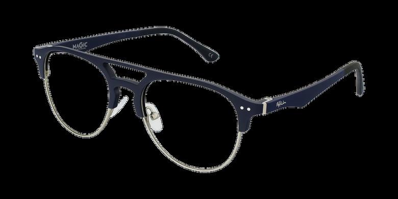 Lunettes de vue homme MAGIC 91 bleu/argenté