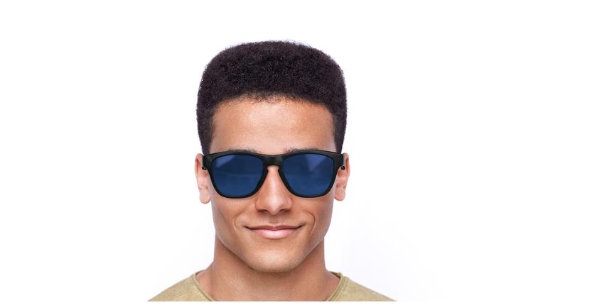 Óculos de sol homem GEANT POLARIZED TO tartaruga/azul - Vista de frente