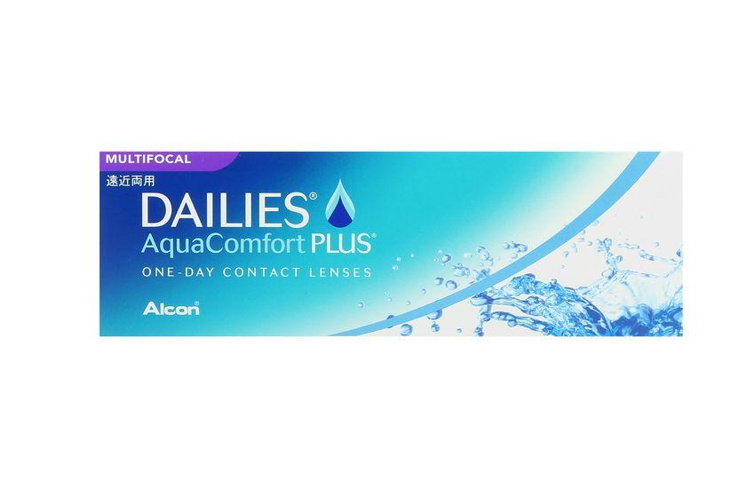 Lentilles de contact Dailies AquaComfort Plus Multifocal LOW - vue de face