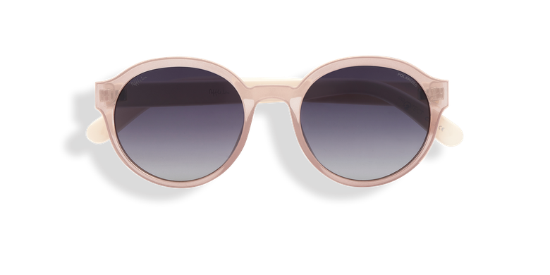 Óculos de sol FARA POLARIZED rosa/bege