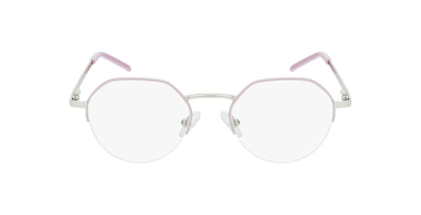 Óculos graduados senhora LAM PK (TCHIN-TCHIN +1€) rosa/dourado - Vista de frente
