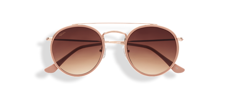 Óculos de sol AHORA (Tchin-Tchin +1€) dourado/rosa