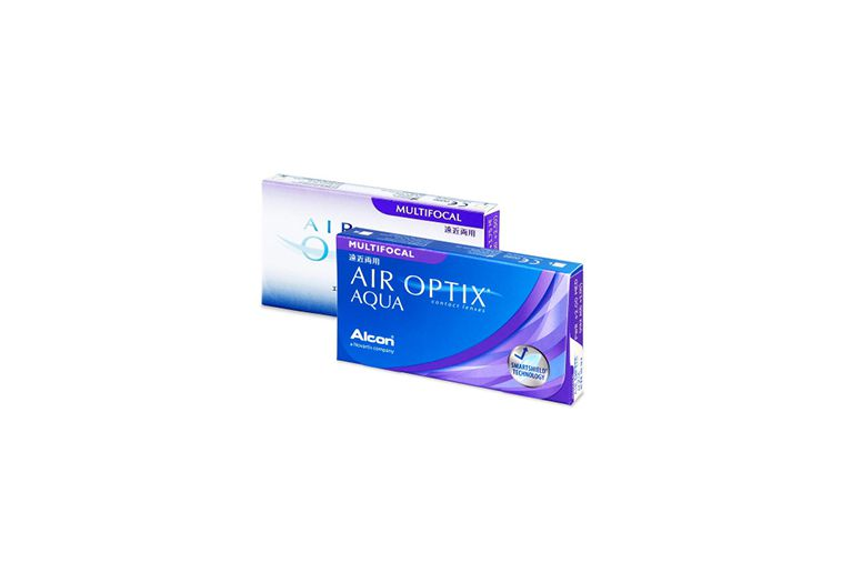 Lentes de contacto Air Optix Aqua Multifocal 3L