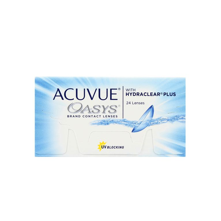 Lentilles de contact Acuvue® Oasys® with Hydraclear® Plus 24L