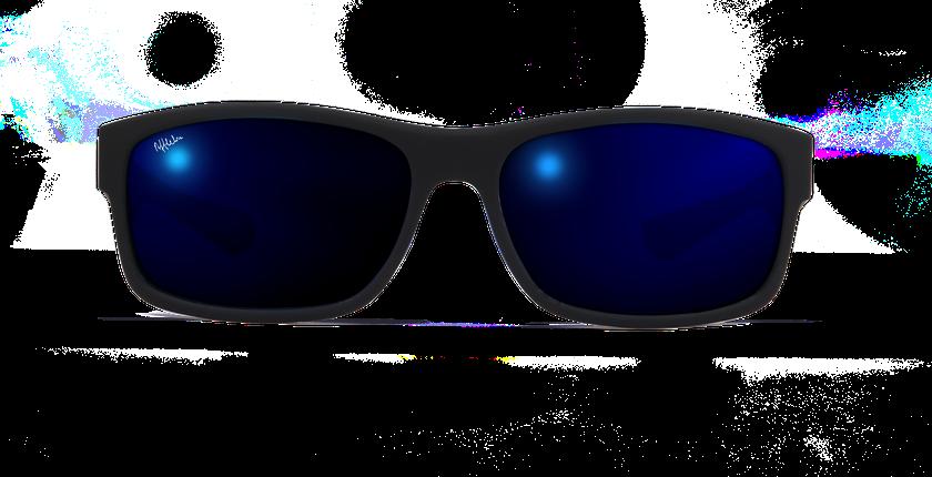 Lunettes de soleil homme IMOLA POLARIZED noir - vue de face