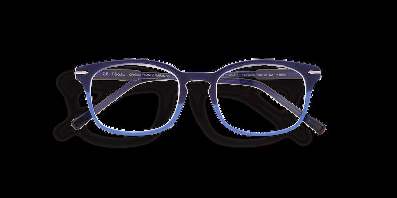 Gafas graduadas hombre BELLIGNAT azul/rojo