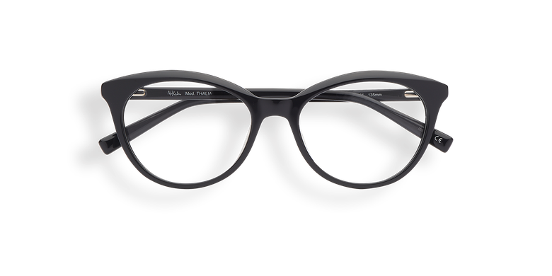 Óculos graduados senhora THALIA preto preto