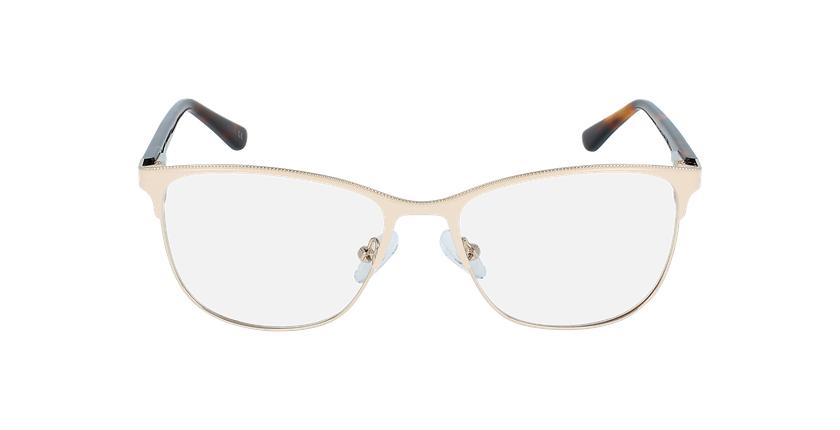 Óculos graduados senhora ALAIS BG (TCHIN-TCHIN +1€) bege - Vista de frente