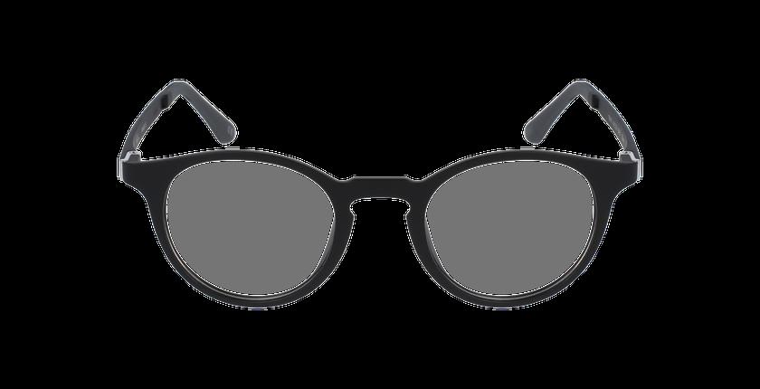 Lunettes de vue femme SMART TONIC 10 noir/noir mat - Vue de face