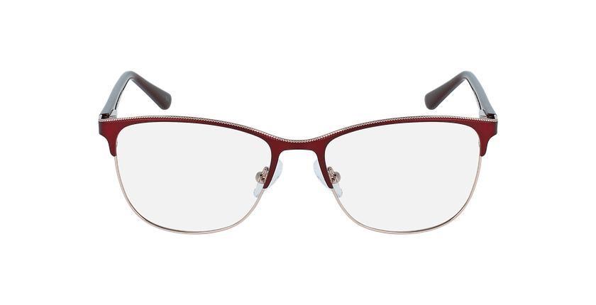 Óculos graduados senhora ALAIS RD (TCHIN-TCHIN +1€) vermelho - Vista de frente