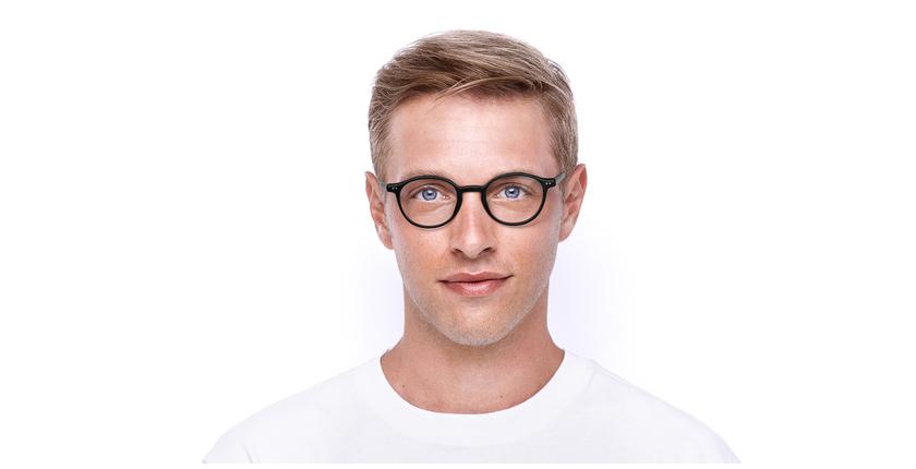Lunettes de vue homme RENAN noir - Vue de face